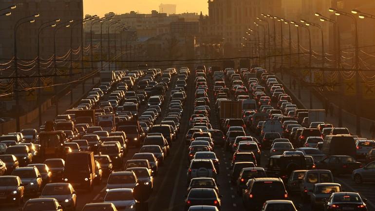Пробки в мегаполисах