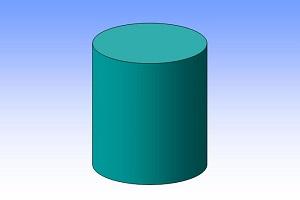 Площадь бокового сечения цилиндра