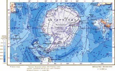 Материк Антарктида описание, рельеф, климат