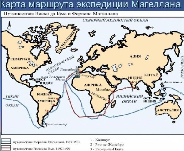 Тихий океан таблица