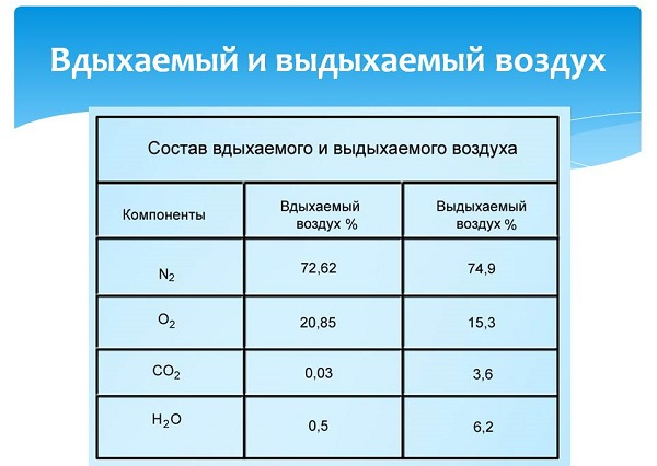 Содержание аргона в воздухе в процентах