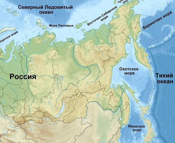 Моря россии фото