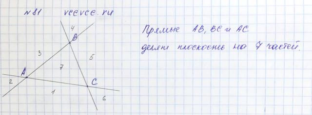 Решение задачи 81 из учебника по математике Виленкин 5 класс