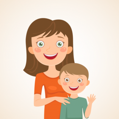 Мам и сын