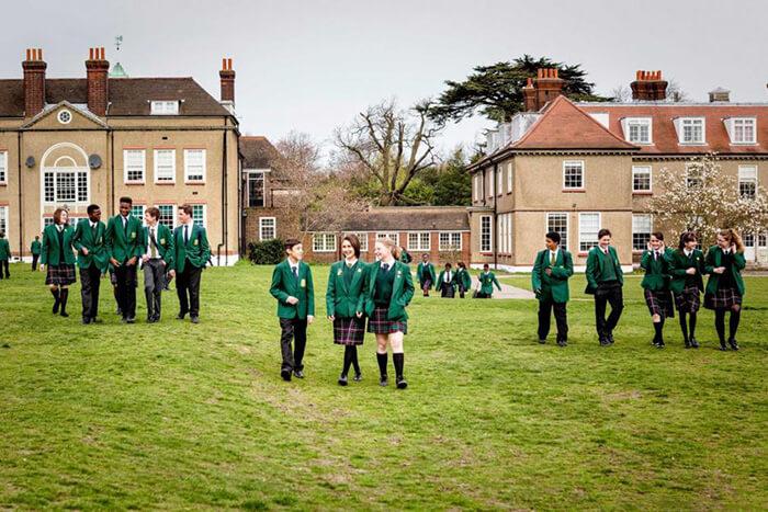Подготовительная школа в Британии